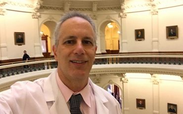 Dr. Lieberman Active at the Texas State Capitol Advocating for Epinephrine Injectors