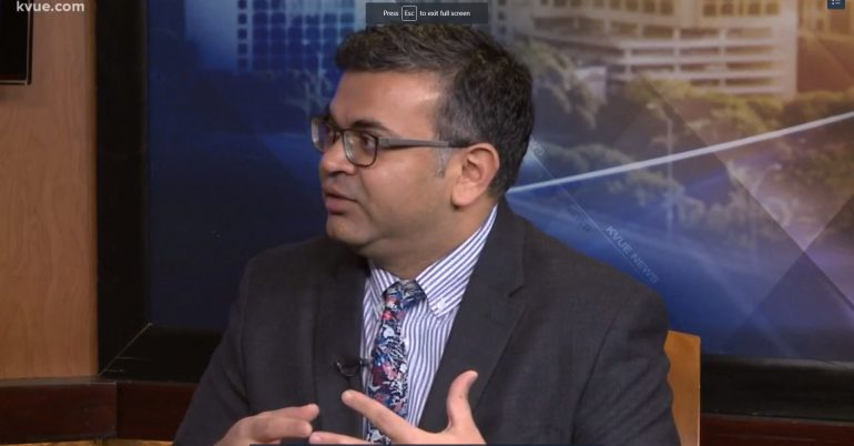 Dr. Parekh media appearances this week